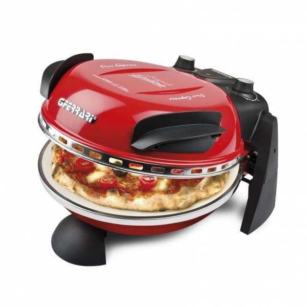 Cuptor pizza G3Ferrari Delizia special cu suprafata de coacere din piatra refractara, termoregulator pana la 390° C si timer cu atentionare sonora 0