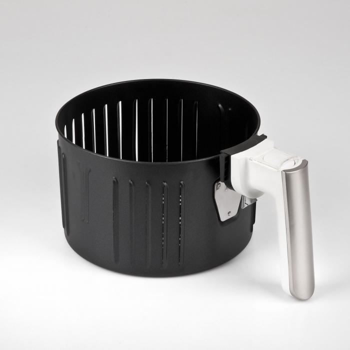 Friteuza cu aer cald fara ulei Girmi FG94 capacitate 3.5L, timer, termostat reglabil 80-200 grade, alb [2]