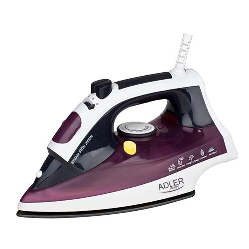 Fier de calcat  ME5022 2200W , talpa inox, abur reglabil, auto-curatare, anti-calcar 0