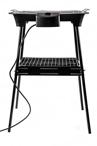 Gratar electric 2 in 1 pentru masa sau gradina, 2000W, reglare temperatura, termostat 1