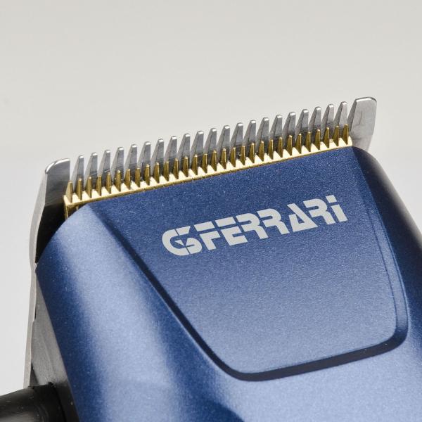 Masina de tuns G3Ferrari - Rebel cu fir, 4 piepteni, multiple accesorii de taiere incluse, albastru-argintiu 2