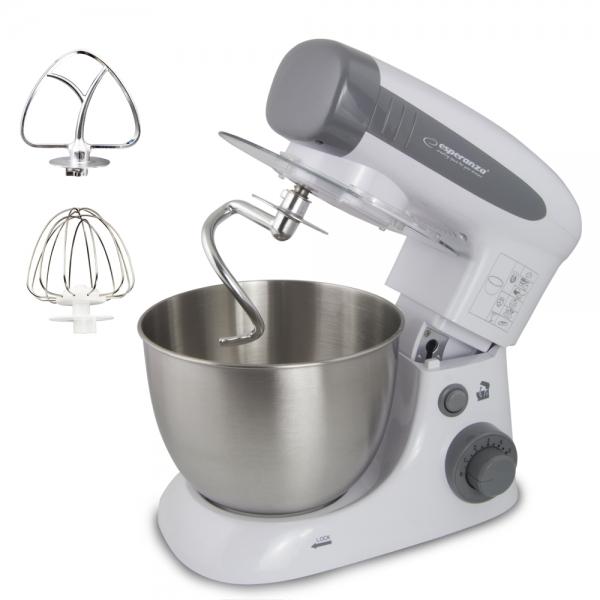 Mixer profesional cu bol Esperanza - Assistant Cooking, 800W, 4L 1