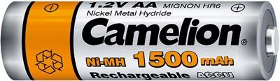 Acumulatori  R06 AA, 1500 mAh, blister de 2 buc, Camelion 1