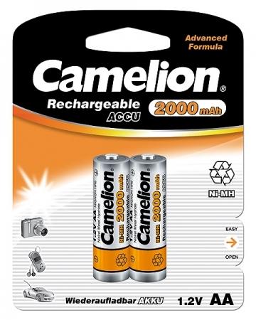 Acumulatori Camelion R06 AA 2000 mAh blister de 2 buc [0]