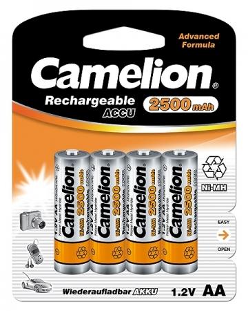Acumulatori  R06 AA, 2500 mAh, blister de 4 buc, Camelion 0