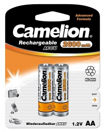 Acumulatori  R06 AA, 2600 mAh, blister de 2 buc, Camelion 0