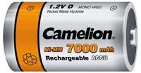 Acumulatori  R20, 7000 mAh, blister de 2 buc, Camelion 1