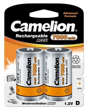 Acumulatori  R20, 7000 mAh, blister de 2 buc, Camelion 0