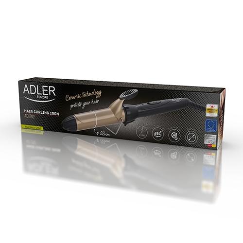 Ondulator de par Adler AD2112 cu tambur de 32mm 1