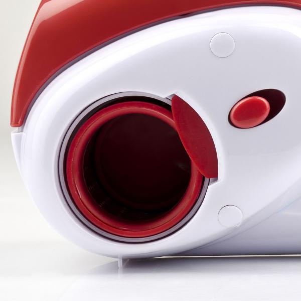 Razatoare electrica reincarcabila pentru branzeturi Girmi GT0201, 2 role din inox, maner ergonomic, baza incarcare 1