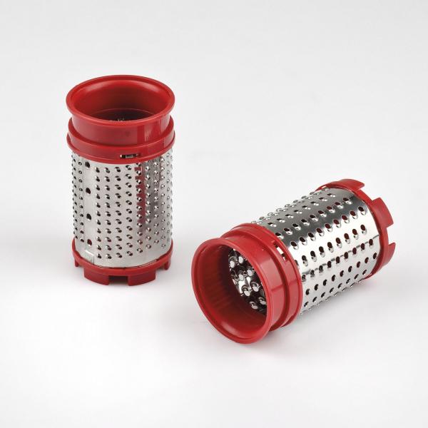 Razatoare electrica reincarcabila pentru branzeturi Girmi GT0201, 2 role din inox, maner ergonomic, baza incarcare 4