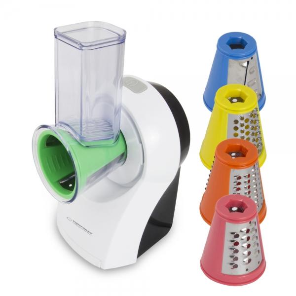 Razatoare multifunctionala cu 5 accesorii interschimbabile feliere, razuire, taiere, maruntire, macinare 1