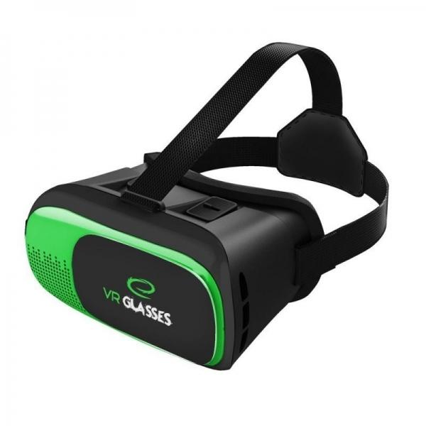 Ochelari VR 3D smartphone 3.5-6 inch, telecomanda bluetooth, Android iOS, Esperanza 2