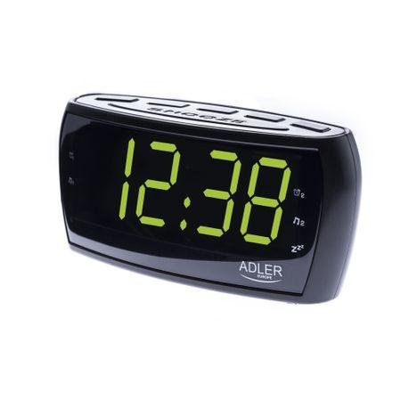 Radio ceas cu alarma si display mare verde relaxant LED 16 cm 1