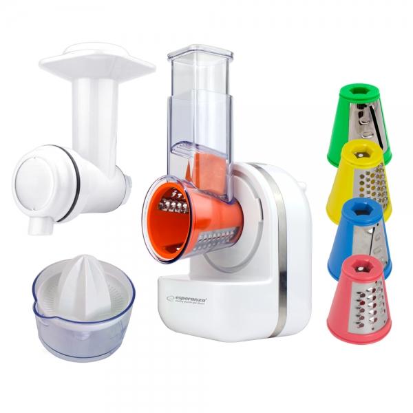Robot de bucatarie multifunctional Panzanella 3 in 1 razatoare, preparare inghetata, storcator citrice [2]