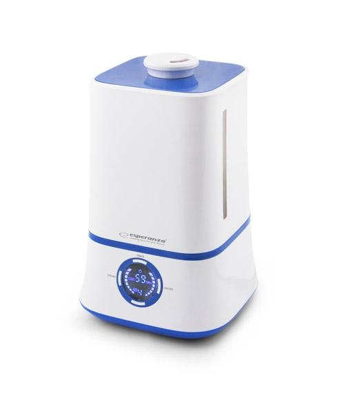 Umidificator aer 3.5L, ecran LCD cu afisaj monitorizare umiditate si temperatura in camera, functionare silentioasa autonomie pana la 11 ore  cu o alimentare 0