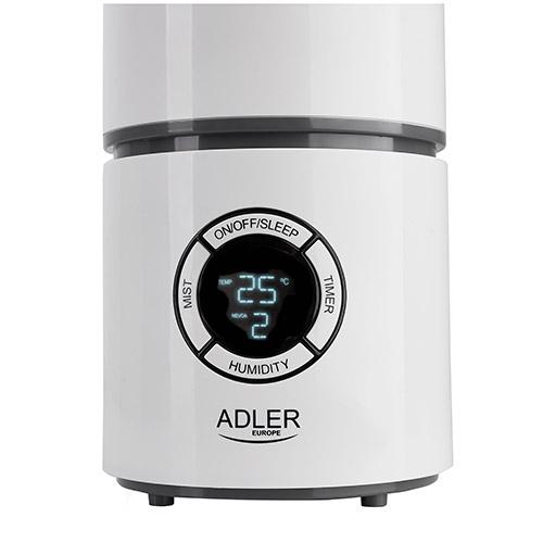 Umidificator ME7957 cu ionizare, higrometru, termometru, si timer 2.2 l, debit 280ml/h, 25W 1