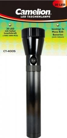 Lanterna cu 30 de LED-uri, luminozitate puternica, design profesional, aluminiu, CT4005, SuperBright, Camelion, LED 0