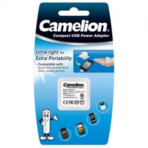 Incarcator de priza universal cu USB, protectie la scurtcircuit si la supraincalzire, Camelion- AD3127 [1]