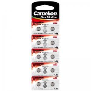 Baterii Alcaline Camelion AG2 prezentare si vanzare la  blister de 10 buc,2