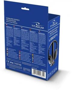 Casti wireless stereo, cu receptor radio incorporat FM, microfon incorporat, functie de monitorizare si control al volumului2