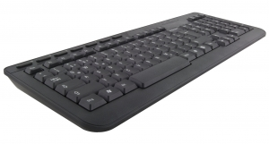 Tastatura si Mouse set 3D wireless 2.4GHz, Titanum Orlando, negru, nano receiver, consum redus de energie, taste rezistente imprimare in material [2]