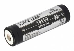 Acumulator 3.7 V 18650 Litiu-ion Xtar 2200mAh pentru tigari electronice, boxe bluetooth, alte dispozitive1