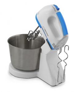 Mixer cu bol inox  2.5 litri, 7 viteze, accesorii pentru mixare, framantare, amestecare [1]