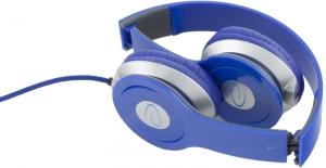 Casti stereo EH145  Blue de inalta calitate, cu control al volumului pe fir2