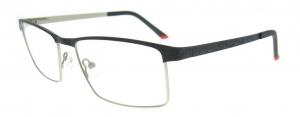 Rame de ochelari, model barbatesc, design modern, culoare - negru, include toc si laveta0