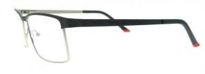 Rame de ochelari, model barbatesc, design modern, culoare - negru, include toc si laveta2