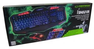 Set  Tastatura si mouse 6D dedicate pentru gaming operatiuni anti-ghosting si pooling rate, iluminare in trei culori, protectie la interferente electromagnetice, inscrisuri rezistente conexiune USB5