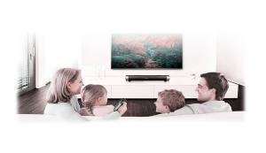 Soundbar Bluetooth 10W RMS cu microfon pentru apeluri telefonice, conectivitate 10m compatibila si cu televizoarele smart1