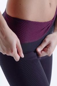 Colanti pentru slabire Secret Slim negru elastic, marime S3