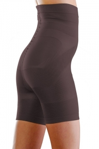 Colanti modelatori cu efect de fermitate Beauty Shape Alto negru, talie inalta, marime L [0]
