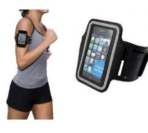 Husa sport XL pentru telefon, buzunar special pentru chei, universala, potrivita pentru telefoane cu dimensiunea maxima: 72,5x147mm [0]