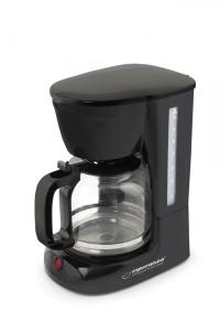 Cafetiera, filtru de cafea negru, capacitate 1.8l, sistem anti-picurare0