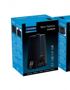 Umidificator aer Lanaform - New Vapolux capacitate 4.5l , detectare si afisare umiditate, 3 viteze, telecomanda, autonomie 12h, productie de ioni negativi2