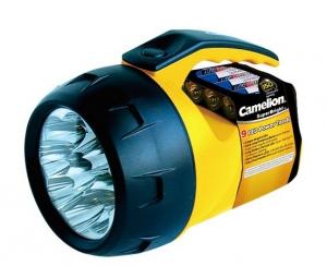Lanterna de mana cu 9 LED-uri, luminozitate puternica, material rezistent, 4 baterii AA incluse, SuperBright, Camelion [1]
