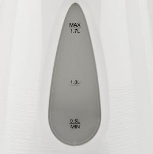Cana electrica gradata Trevi - Geyser 1.7L, filtru detasabil, protectie supraincalzire, oprire automata, LED2