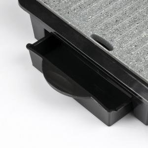 Gratar electric Girmi - BS10 corp din otel inoxidabil, tehnologie Petravera, putere 1000W1