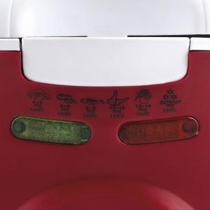 Friteuza Girmi FG20 capacitate 2l, temperatura reglabila, 1450W, alb-rosu5