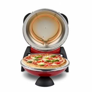 Cuptor pizza G3Ferrari Delizia special cu suprafata de coacere din piatra refractara, termoregulator pana la 390° C si timer cu atentionare sonora3