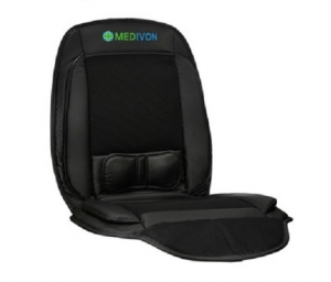 Saltea de masaj cu vibratii, optiuni incalzire  ventilatie si racire utilizare casa  masina  birou control usor prin telecomanda1
