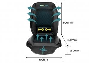 Saltea de masaj cu vibratii, optiuni incalzire  ventilatie si racire utilizare casa  masina  birou control usor prin telecomanda4