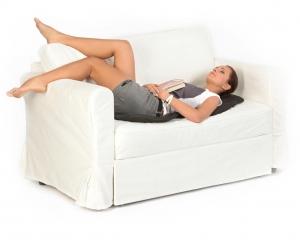 Saltea de masaj cu incalzire si vibratii, 5 programe, 4 zone de masaj si 5 motoare, CF26023