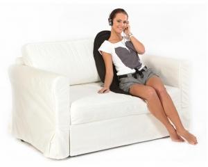 Saltea de masaj cu incalzire si vibratii, 5 programe, 4 zone de masaj si 5 motoare, CF26024