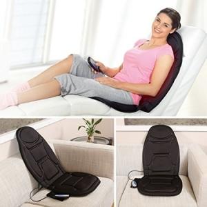 Saltea de masaj cu incalzire si vibratii, 5 programe, 4 zone de masaj si 5 motoare, CF26021