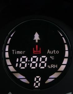 Umidificator aer Lanaform - New Vapolux capacitate 4.5l , detectare si afisare umiditate, 3 viteze, telecomanda, autonomie 12h, productie de ioni negativi6