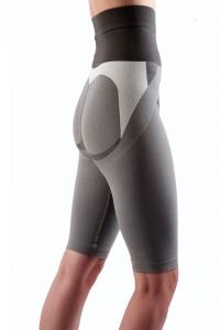 Colanti cu efect de modelare, intarire, cu turmalina, masaj 3D marime S, gri, ideali pentru activitate sportiva2